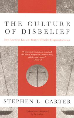The Culture of Disbelief Cover