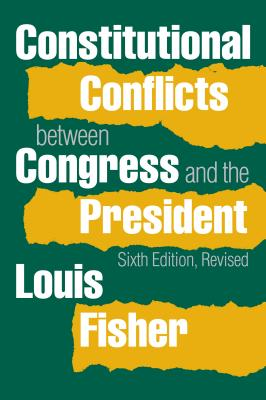 Constitutional Conflicts Between Congress and the President Cover Image