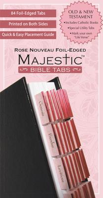 "Majestic Rose Nouveau Bible Tabs (Majesticâ""¢ Bible) Cover Image"