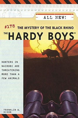 The Mystery of the Black Rhino (Hardy Boys #178) Cover Image