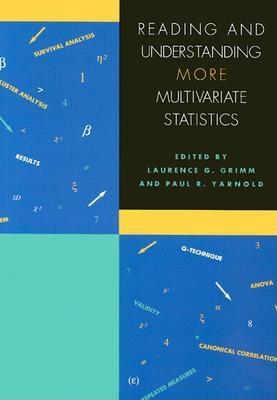 Reading and Understanding More Multivariate Statistics: Cover Image