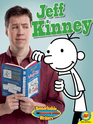 Jeff Kinney, with Code Cover