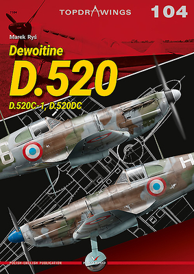 Dewoitine D.520: D.520c-1, D.520dc (Topdrawings) Cover Image