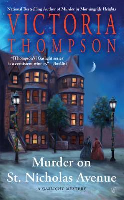 Murder on St. Nicholas Avenue (A Gaslight Mystery #18) Cover Image