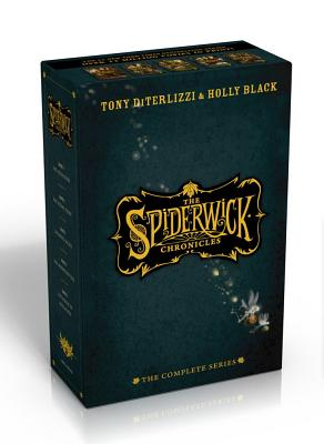 The Spiderwick Chronicles, the Complete Series: The Field Guide; The Seeing Stone; Lucinda's Secret; The Ironwood Tree; The Wrath of Mulgrath Cover Image