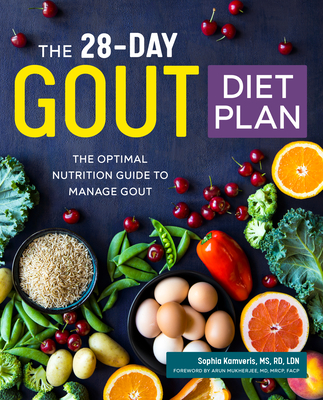 The 28-Day Gout Diet Plan: The Optimal Nutrition Guide to Manage Gout Cover Image