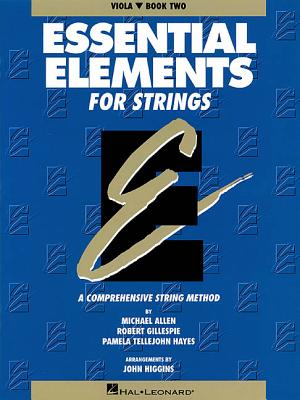 Essential Elements for Strings Book Two, Viola: A Comprehensive String Method Cover Image