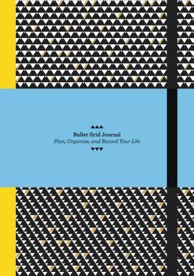 Bullet Grid Journal: Geometric Cover Image