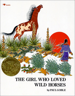 The Girl Who Loved Wild Horses Cover