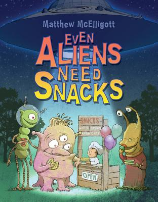 Even Aliens Need Snacks Cover Image
