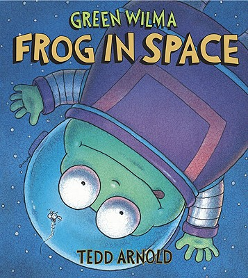 Green Wilma, Frog in Space Cover