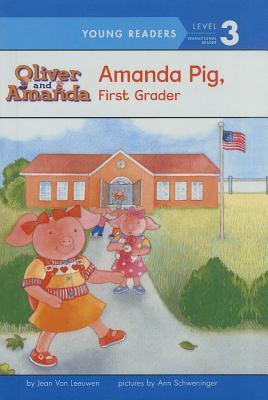 Amanda Pig, First Grader (Oliver & Amanda Pig Books) Cover Image