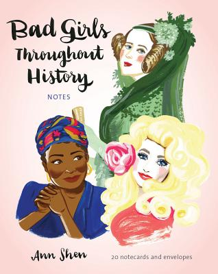 Bad Girls Throughout History Notes: 20 Notecards and Envelopes Cover Image