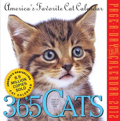 365 Cats Page-a-Day 2012 Calendar Cover Image