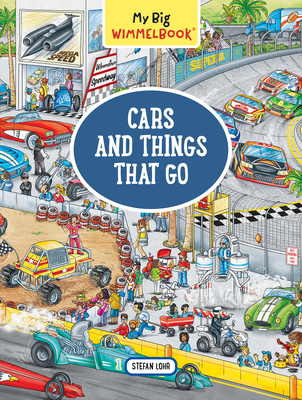 My Big Wimmelbook—Cars and Things That Go (My Big Wimmelbooks) Cover Image