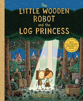 The Little Wooden Robot and the Log Princess Cover Image