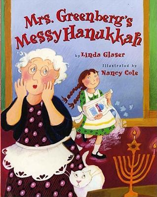 Mrs. Greenberg's Messy Hanukkah Cover Image