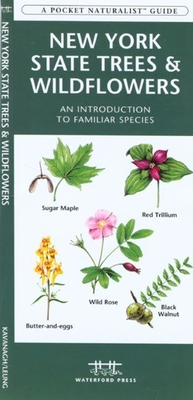 New York State Wildlife: A Folding Pocket Guide to Familiar Species (Pocket Naturalist Guides) Cover Image