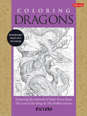 Coloring Dragons Cover