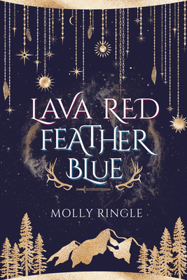 Lava Red Feather Blue Cover Image