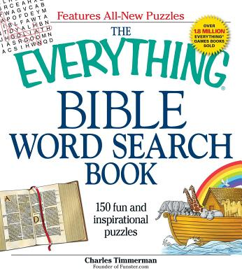 The Everything Bible Word Search Book: 150 fun and inspirational puzzles (Everything®) Cover Image
