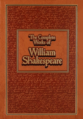 The Complete Works of William Shakespeare (Leather-bound Classics) Cover Image