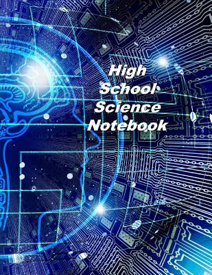High School Science Notebook: Experiment Documentation and Lab Tracker Cover Image