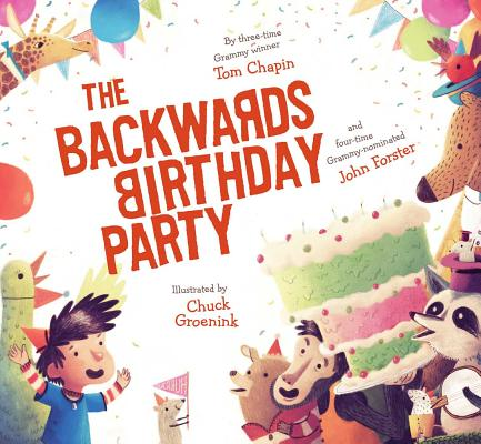 Cover for The Backwards Birthday Party