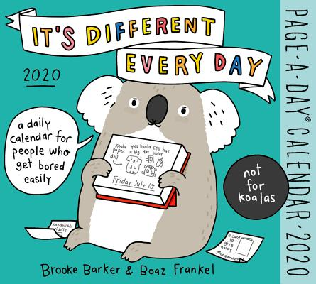 It's Different Every Day Page-A-Day Calendar 2020 Cover Image