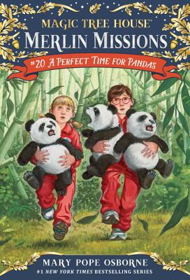 A Perfect Time for Pandas (Magic Tree House (R) Merlin Mission #20) Cover Image