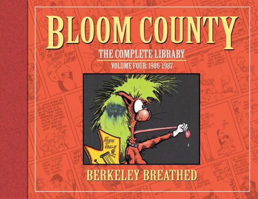 The Bloom County Library, Volume 4 Cover