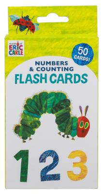 World of Eric Carle (TM) Numbers & Counting Flash Cards: (Learning to Count Cards, Math Flash Cards for Kids, Eric Carle Flash Cards) Cover Image