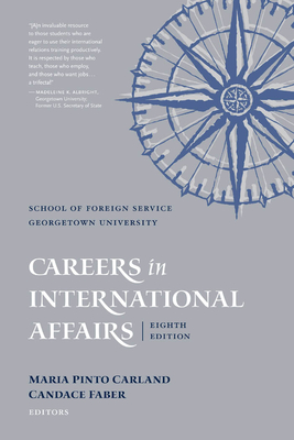 Cover for Careers in International Affairs