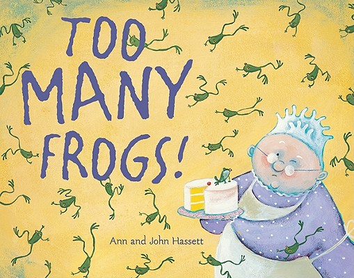 Too Many Frogs! Cover