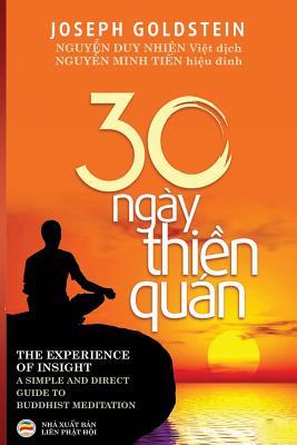 Ba mươi ngày thiền quán Cover Image