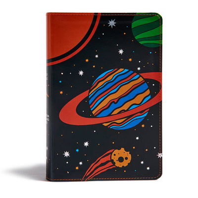 CSB Kids Bible, Space Leathertouch Cover