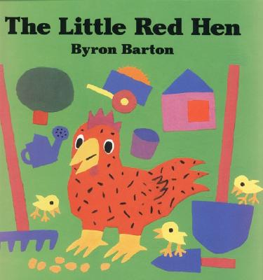 The Little Red Hen Board Book Cover