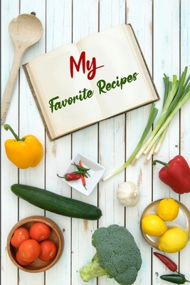 My Favorite Recipes Cover Image