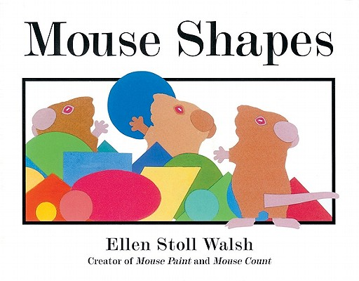 Mouse Shapes big book Cover Image