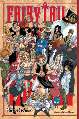 Fairy Tail 6 Cover