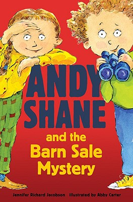 Andy Shane and the Barn Sale Mystery Cover