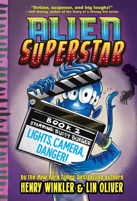 Lights, Camera, Danger! (Alien Superstar #2) Cover Image