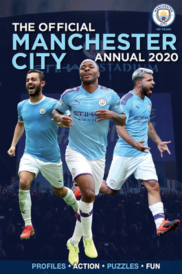 The Official Manchester City Annual 2021 Cover Image