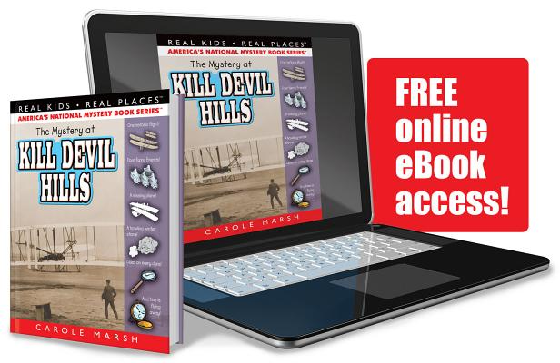 The Mystery at Kill Devil Hills (Real Kids! Real Places! #9) Cover Image