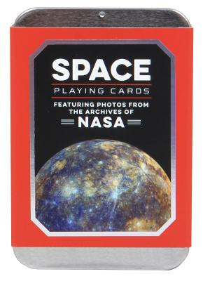 Space Playing Cards (NASA Playing Cards, Space Game, Playing Cards, Space Game): Featuring Photos from the Archives of NASA Cover Image
