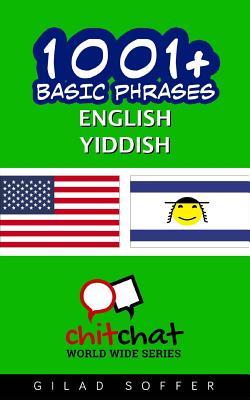 1001+ Basic Phrases English - Yiddish Cover Image
