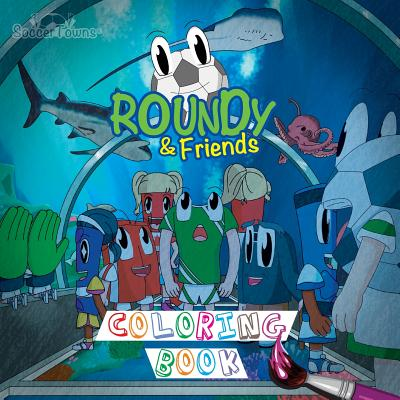Roundy & Friends Coloring Book Cover Image