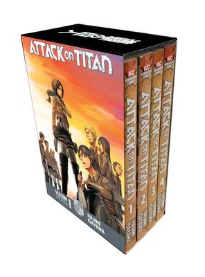 Attack on Titan Season 1 Part 1 Manga Box Set Cover Image