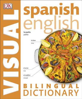 Spanish English Bilingual Visual Dictionary Cover Image