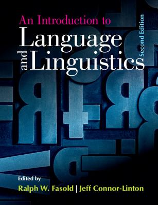 An Introduction to Language and Linguistics Cover Image